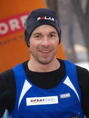 Sieger auf der 14 km Distanz <b>Dieter Pratscher</b> (LC Stinatz) 0:47:26 - Vcm_Dieter_ZE